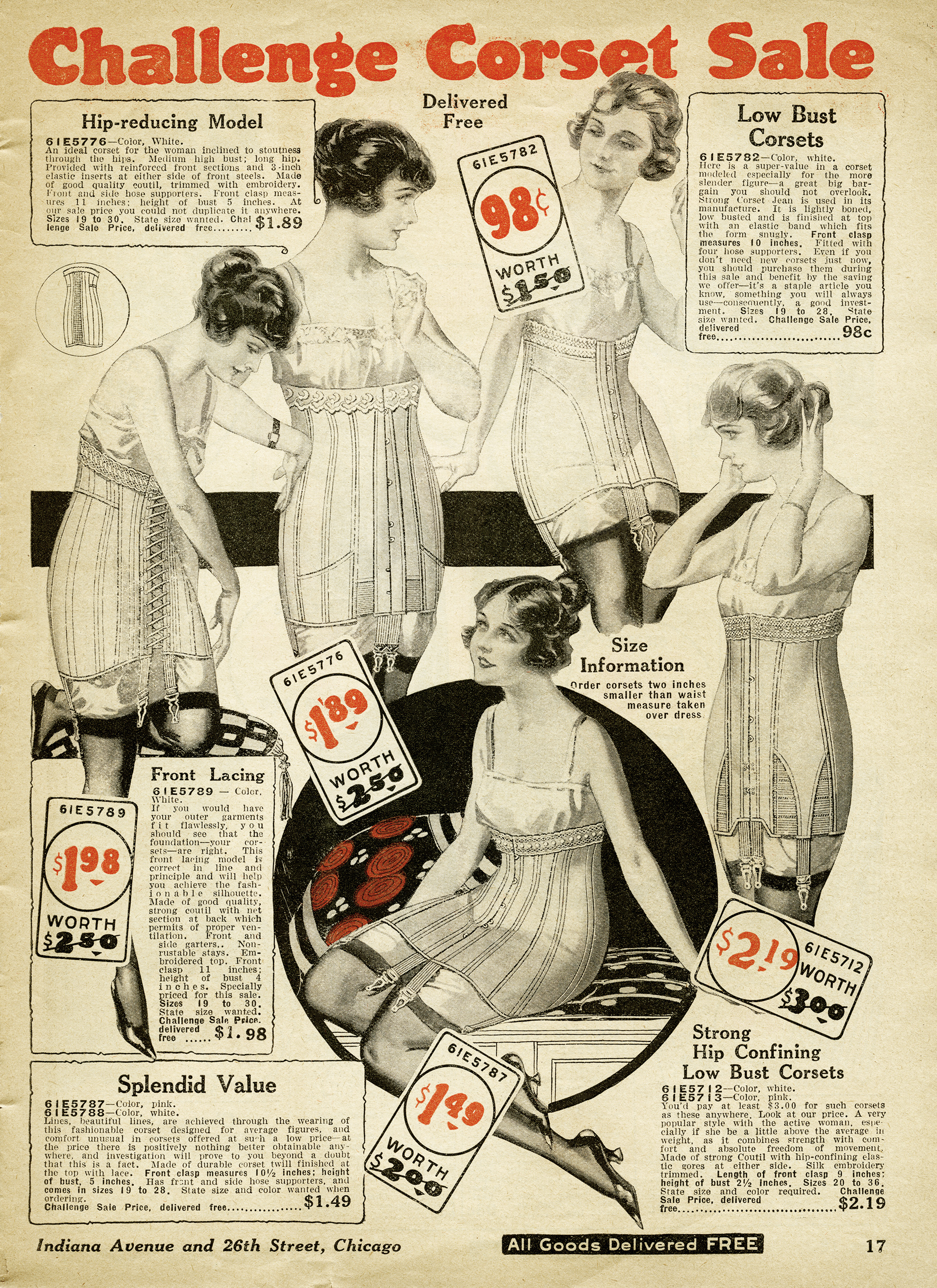 picture regarding Free Vintage Printable identify Absolutely free Classic Printable Corsets Catalog Website page - Outdated Style
