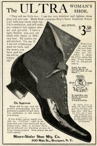 Free vintage Victorian shoe magazine advertisement