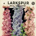 Free vintage clip art larkspur seed packet F Lagomarsino and Sons