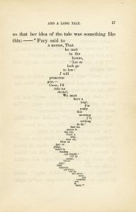 Alice in Wonderland book page