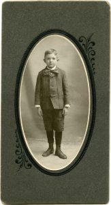 Cabinet card photo Victorian boy free vintage clip art