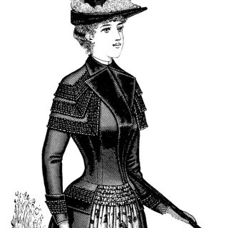 Victorian Lady Pictures Clip Art