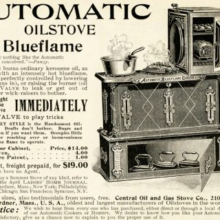 Free Vintage Clip Art Stove Advertisement