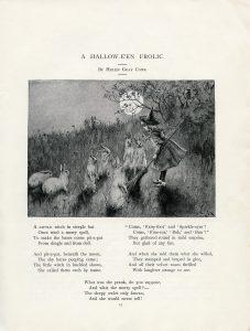 free vintage Halloween poem