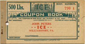free vintage ice coupon book digital ephemera