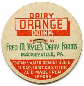 free vintage printable milk bottle caps