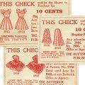 Free vintage printable sewing ephemera coupon