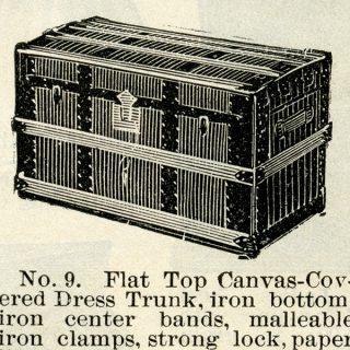 Vintage Trunk Clip Art