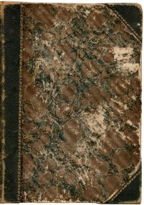 Free vintage book cover worn and aged