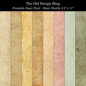 vintage color grunge shabby digital paper