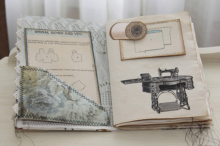 junk journal for christmas