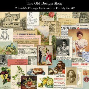Old Design Shop ephemera pack