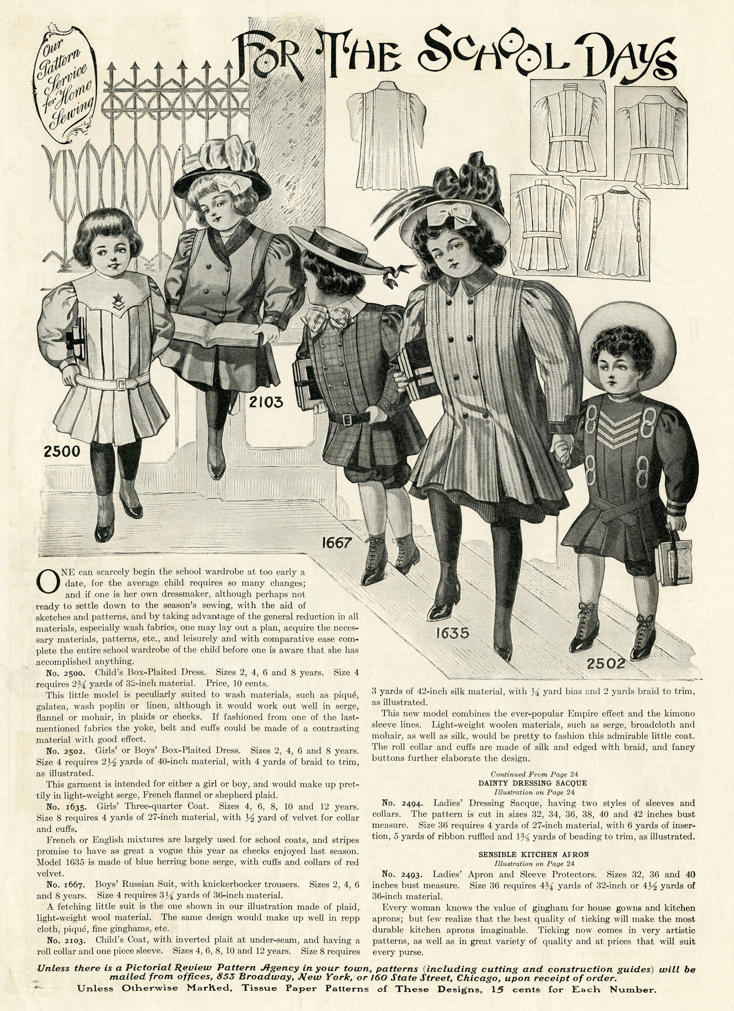 vintage school fashions for children free printable ephemera