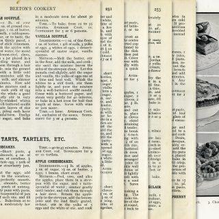 Vintage Tart and Tartlet Recipes