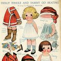 free printable vintage paper doll Dolly Dingle