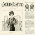 Free printable vintage ladies theatre waist fashion