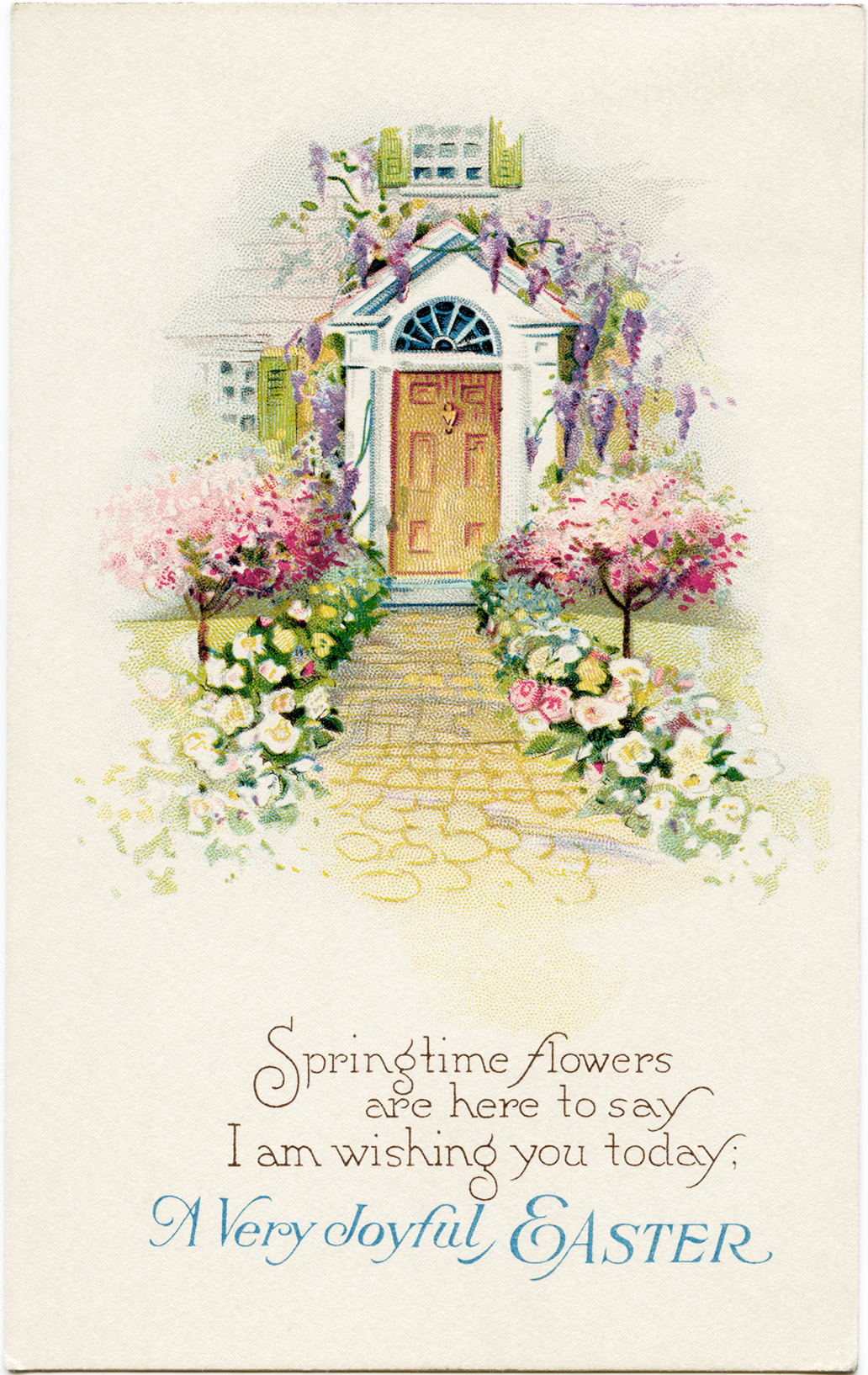 Free Vintage Clip Art for Easter