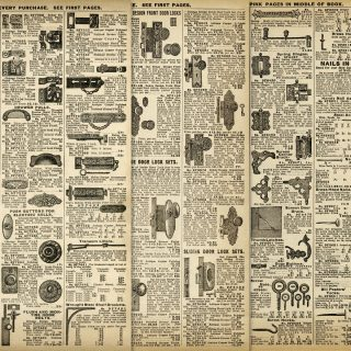 vintage hardware free printable catalog page