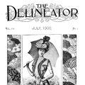 July 1900 ladies fashion free printable clip art
