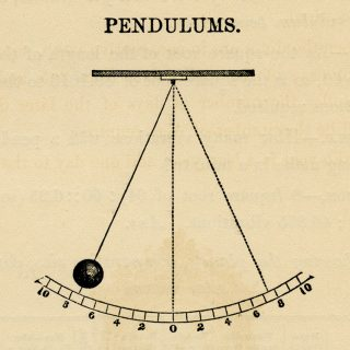 pendulum vintage clip art