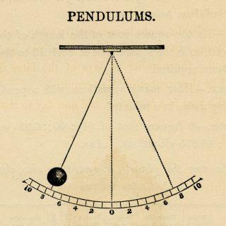 pendulum vintage clip art