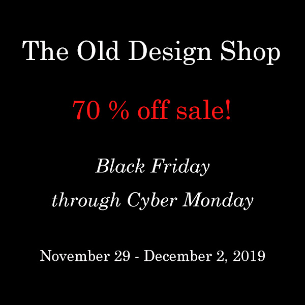 Black Friday sale Old Design Shop