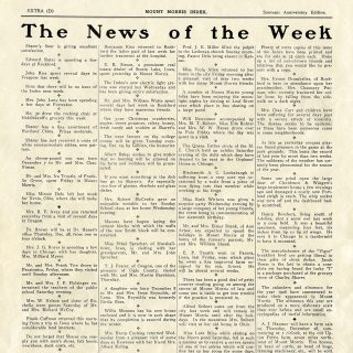 news of the week printable book page