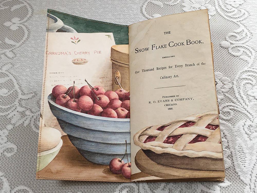 traveler's notebook vintage style recipe junk journal