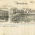 antique farm supply invoice