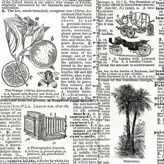 antique dictionary clippings free clip art